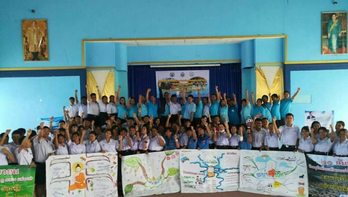 สทภ.2 (ส่วนประสานและบริหารจัดการลุ่มน้ำเจ้าพระยา) ดำเนินการจัดกิจกรรมโครงการอนุรักษ์และพัฒนาแม่น้ำ คู คลอง จ.ปทุมธานี