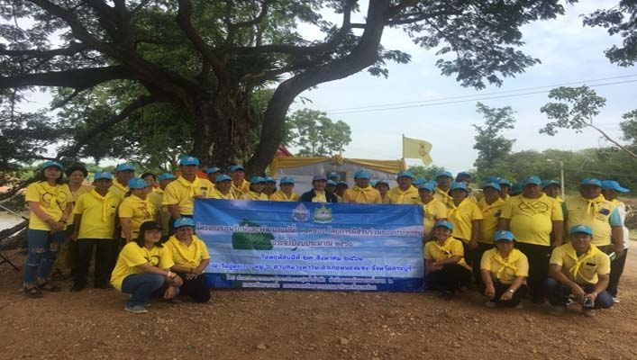 สทภ.2 (ส่วนประสานและบริหารจัดการลุ่มน้ำป่าสัก) ดำเนินโครงการอนุรักษ์และพัฒนาแม่น้ำ คู คลอง  จังหวัดสระบุรี