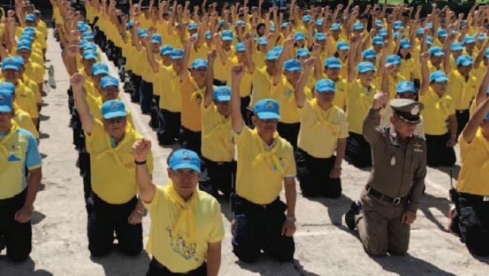 สทภ.3 ร่วมโครงการจิตอาสาพระราชทาน เราทำความดี ด้วยหัวใจ ณ วัดป่าโนนนิเวศน์ จ.อุดรธานี