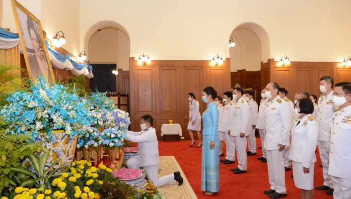 ทส. ลงนามถวายพระพรชัยมงคล สมเด็จพระนางเจ้าสิริกิติ์ พระบรมราชินีนาถ พระบรมราชชนนีพันปีหลวง เนื่องในโอกาสวันเฉลิมพระชนมพรรษา 88 พรรษา