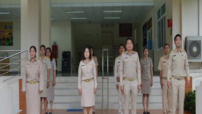"""สทภ.9 ปลุกจิตสำนึก """"การร้องเพลงชาติไทย"""""""