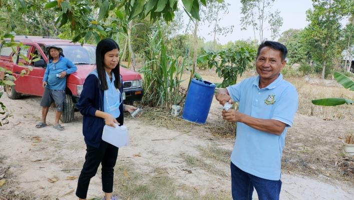 ทส.ทน.สทภ.11 ลงพื้นที่เก็บตัวอย่างน้ำประปาหมู่บ้าน ส่งตรวจวิเคราะห์คุณภาพน้ำในเขตพื้นที่รับผิดชอบ