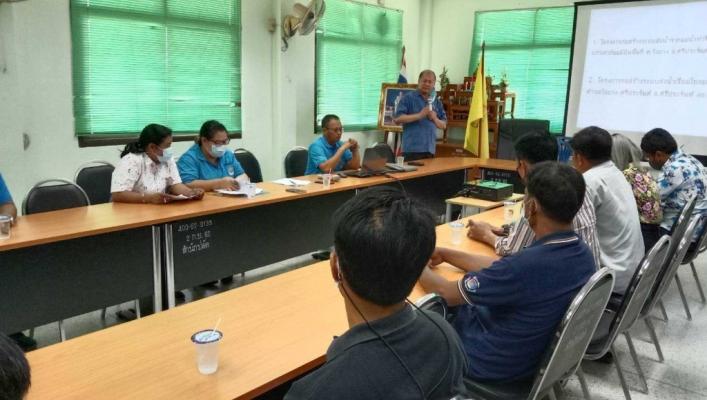 สทภ.7 จัดประชุมประชาคมโครงการในพื้นที่จังหวัดสุพรรณบุรี